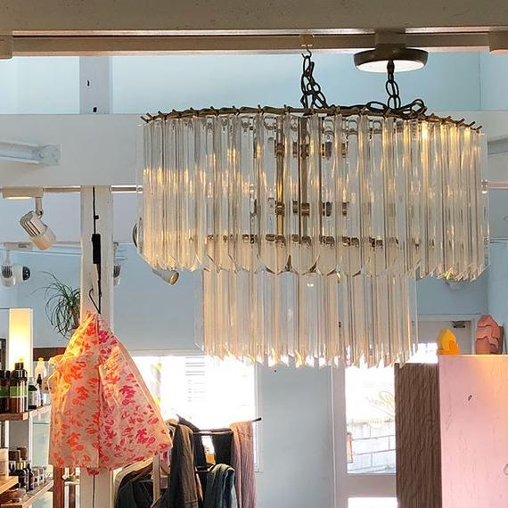 Vintage Atomic Chandelier / USA60's-70's