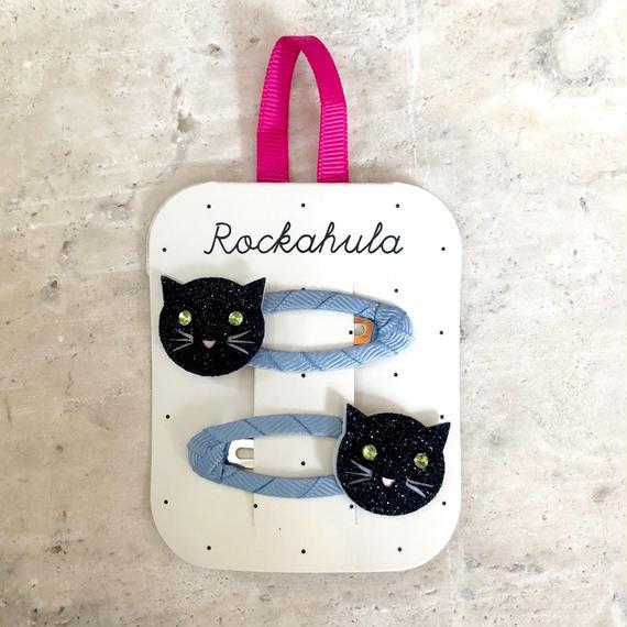 GLITTER CAT CLIPS / Rockahula