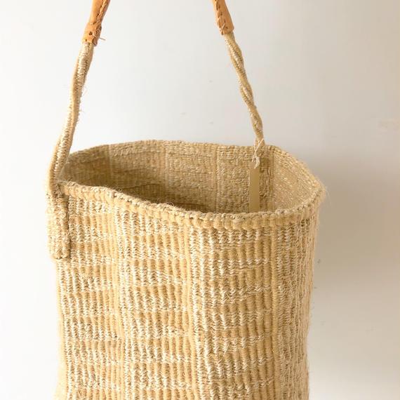 Sisal Basket One Handle