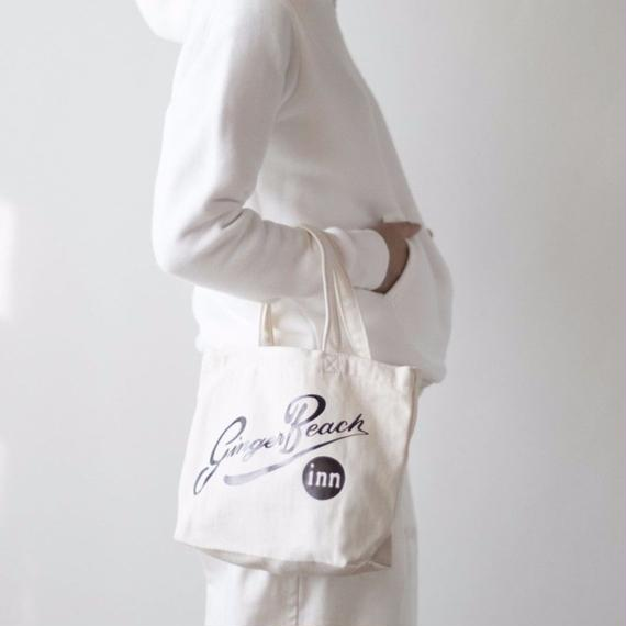 Foil Logo Tote in 100% Organic Cotton /Ginger Beach Inn Original