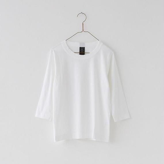 homspun 天竺Tシャツ 七分袖