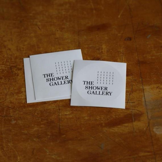 """THE SHOWER GALLERY """"Original Sticker"""""""