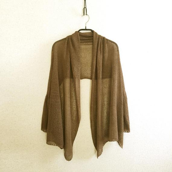 ◆即納◆Rigel[リゲル] 袖付きストール / ローズ・ベージュ