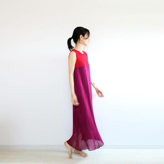 ◆ラスト1点 即納◆Syrma[シュルマ] マキシ・ワンピース / ピンク系1 / Mサイズ