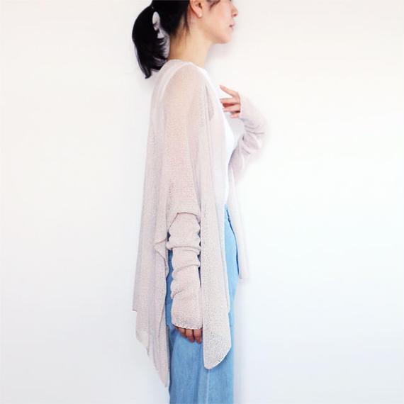◆即納◆Alwaid[アルワイド] オールカバー袖付きストール / アイシー・グレー