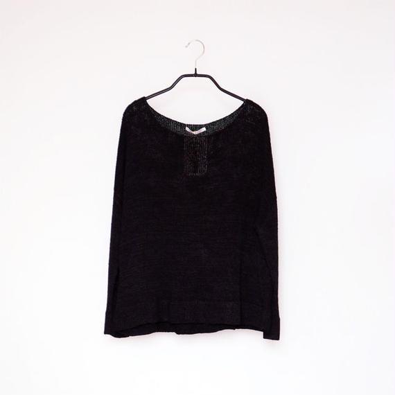 ◆即納◆Aries[アリエス] ボクシー・セーター1 / ブラック / Mサイズ