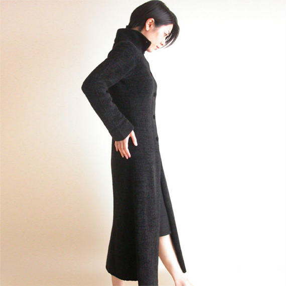 ◆ラスト1点◆即納◆Deneb[デネブ] ロングコート / ブラック / Mサイズ