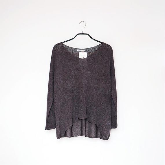 ◆即納◆Sadalsuud[サダルスウード] ボクシー・セーター3 / ディープフォレスト・グレー / Mサイズ