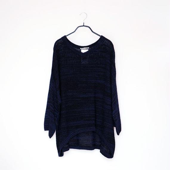 ◆即納◆Tarazed[タラゼド] ボクシー・セーター6 / ブルー系1 / Mサイズ  のコピー