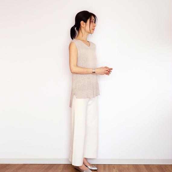 Cor[コル] ボクシー・トップス2 / アイシー・グレー