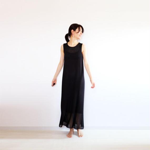 ◆即納◆Syrma[シュルマ] マキシ・ワンピース / ブラック / Mサイズ
