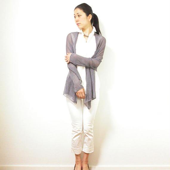 ◆即納◆Rigel [リゲル] 袖付きストール / ミドル・グレー