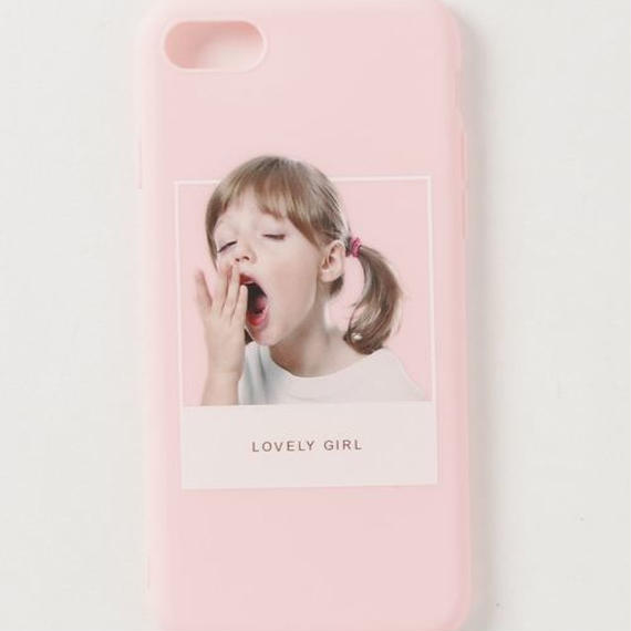 【GLORY】 LOVELY GIRL iPhoneケース