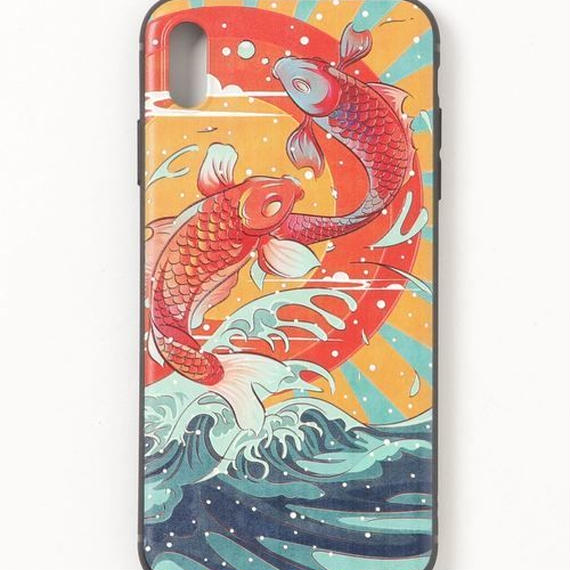 【GLORY】 和柄鯉 iPhoneケース