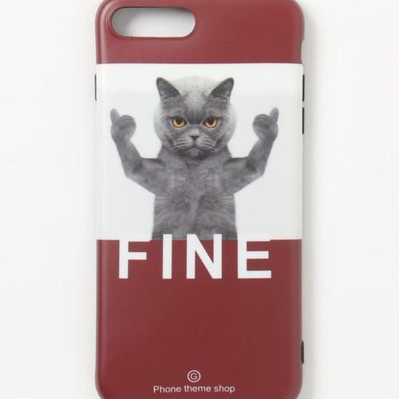 【GLORY】 FINE CAT iPhoneケース
