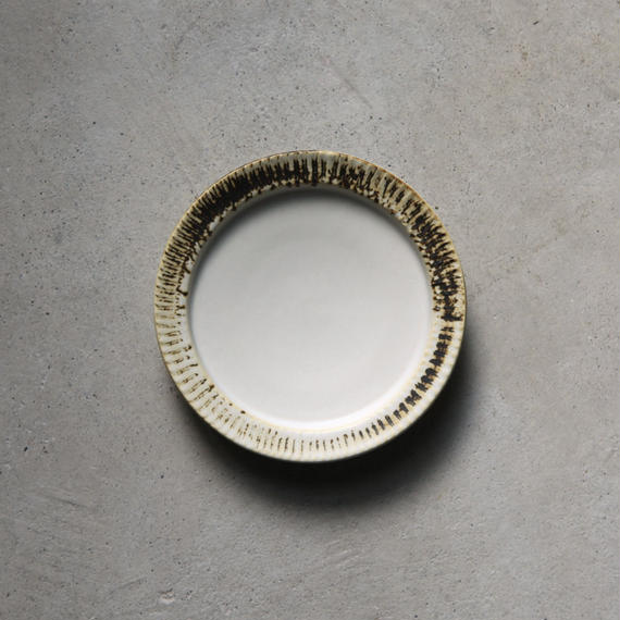 no./p003 rim plate (約15cm)