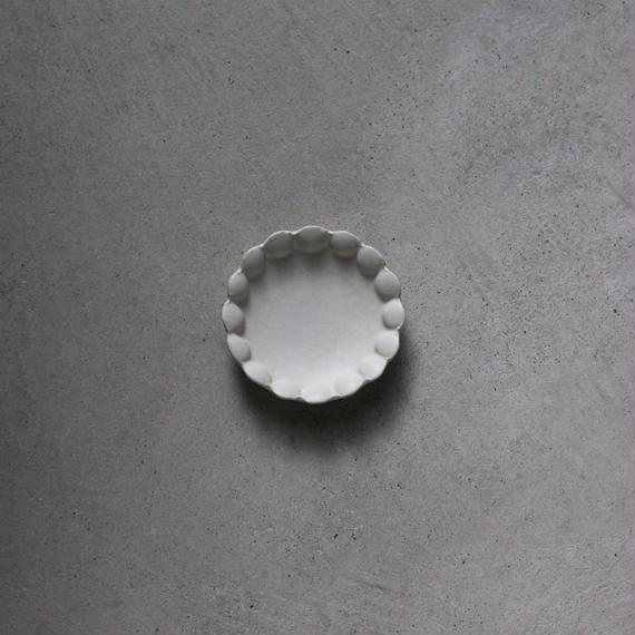 no./p001 flower dish plate (約9cm)