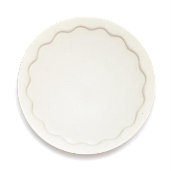 no./p009 wave rim plate (約24cm)