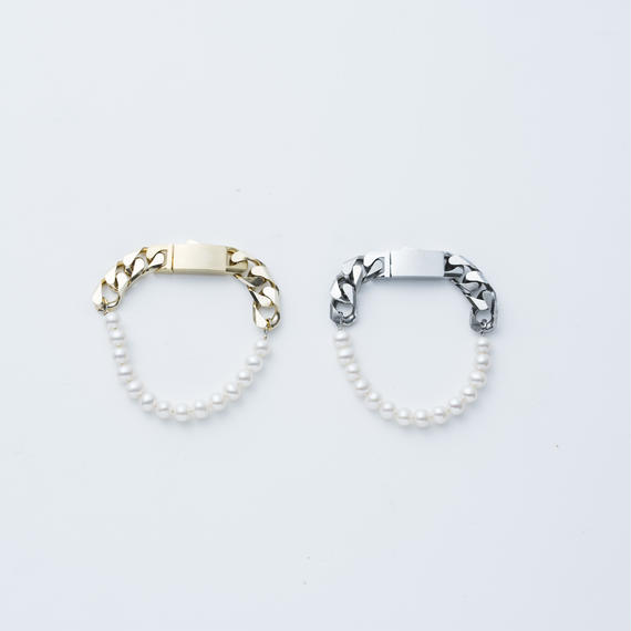 Fresh Pearl clasp bracelet