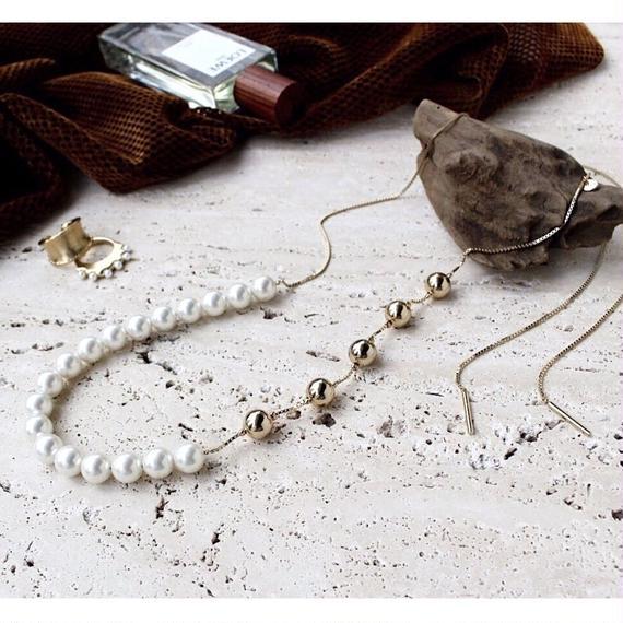 Ceres pearl necklace (2way)