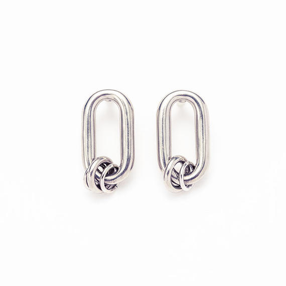 Old chain coil pierce[Unisex line]