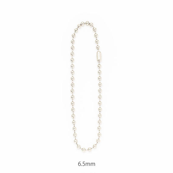 Ballchain necklace / 6.5mm[Unisex line]