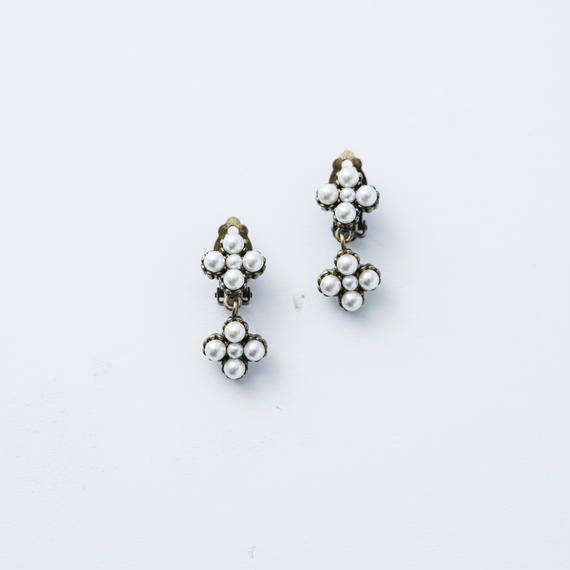 Victorian pearl earing (2Parts)