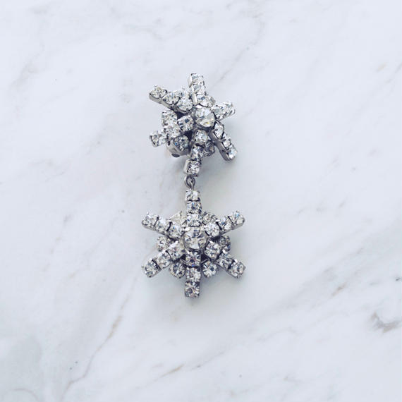 Snow single pierce / earing (1P)