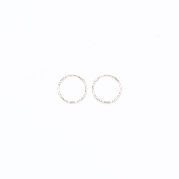 Simple hoop pierce  / Large[Limited]