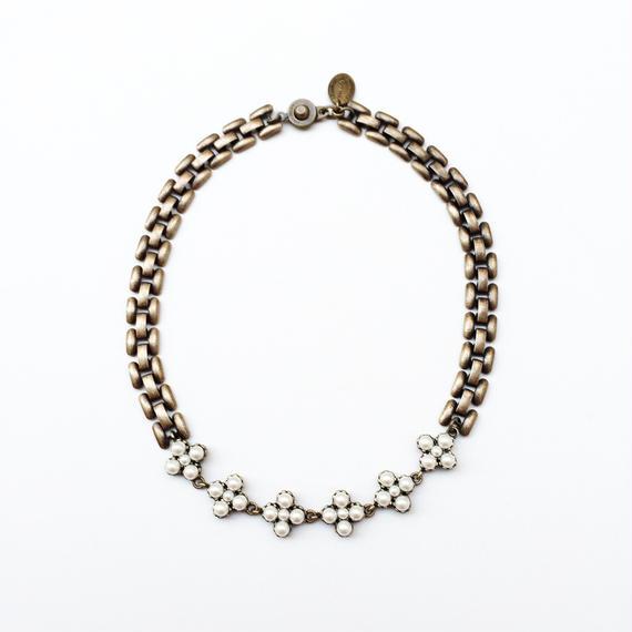 Victorian pearl choker