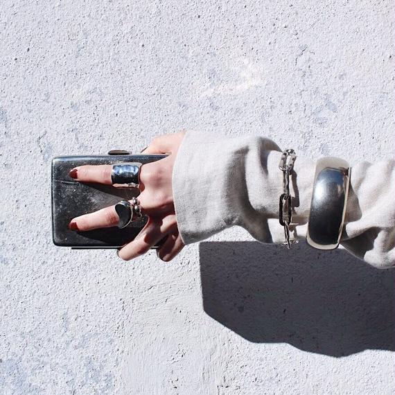 Ethical chain bracelet