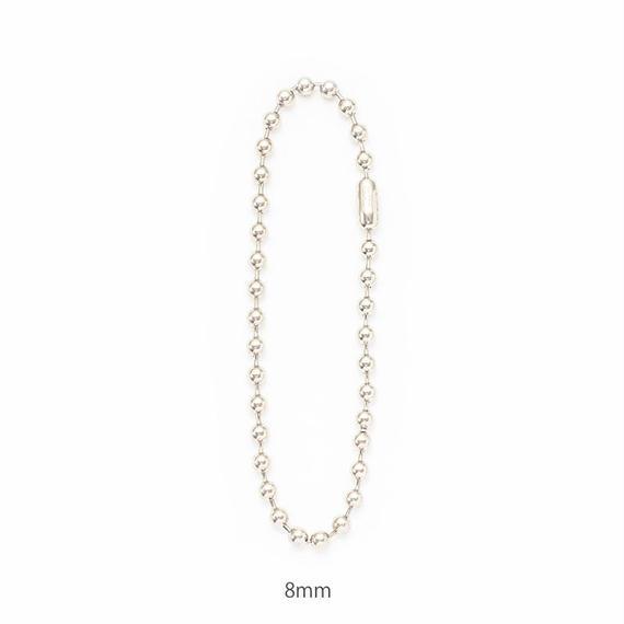Ballchain necklace / 8mm[Unisex line]