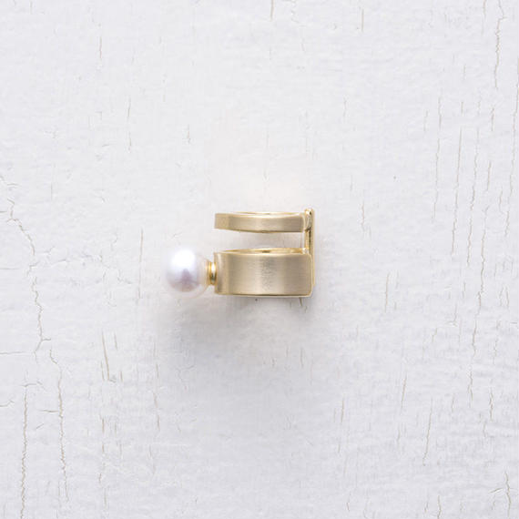 Pearl element earcuff (1P)