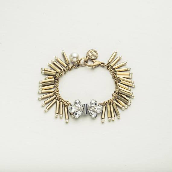 Fringe bijou bracelet