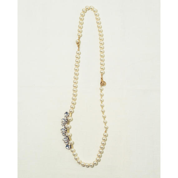 Shell pearl necklace (2Way)