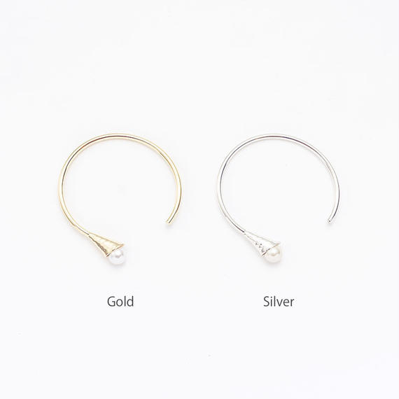 Horn pearl bangle