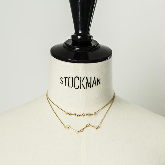 Constellation necklace (2P set)