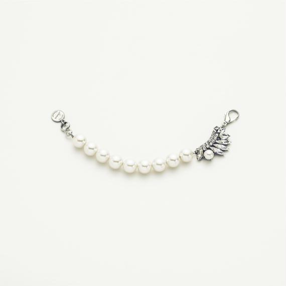 Drop bijou pearl blacelet