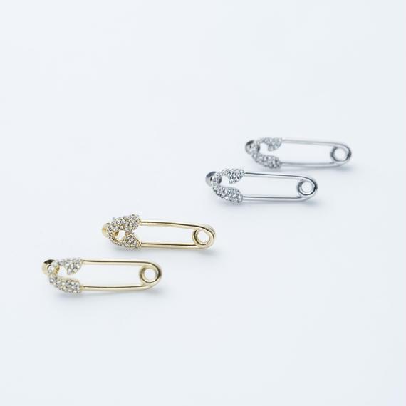 Safety pin pierce (Bijou)