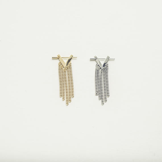 Geometric fringe pierce (1P・Short type)