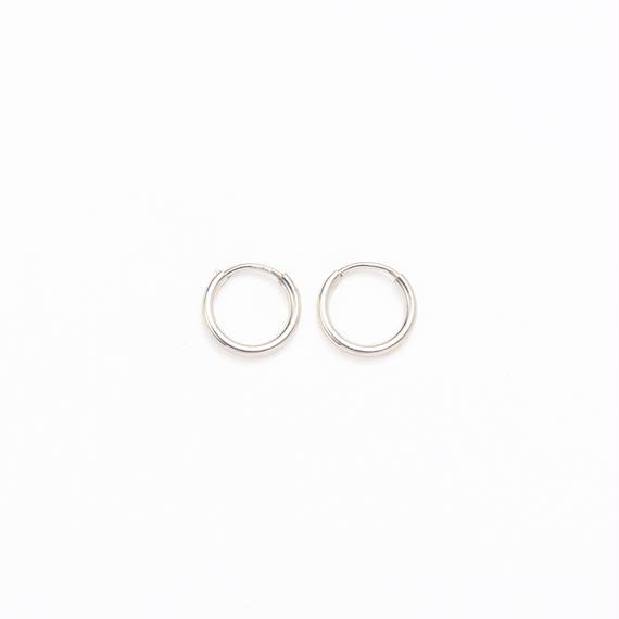Simple hoop pierce  / Small[Limited]