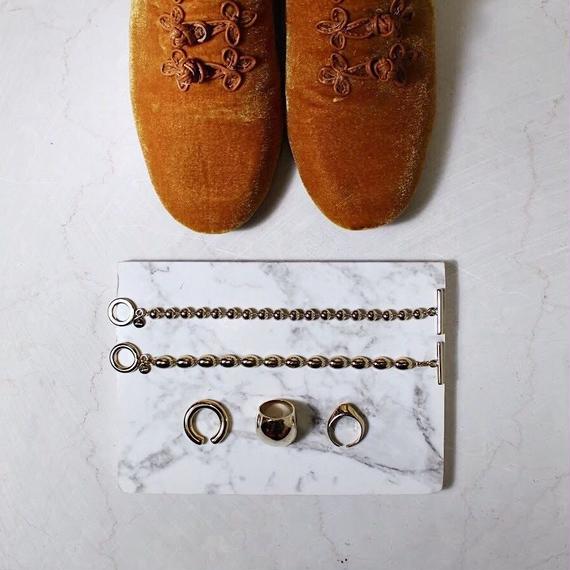 Oval ball bracelet