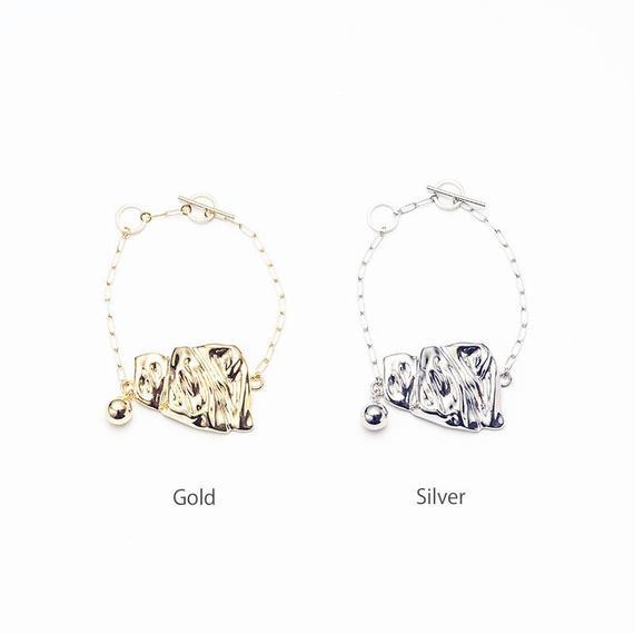 Fold chain bracelet
