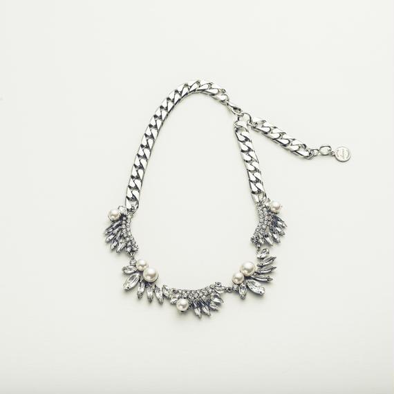 Drop bijou necklace (Half)