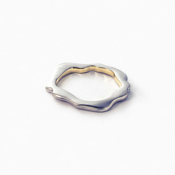 Bronze flat bangle (mix color)