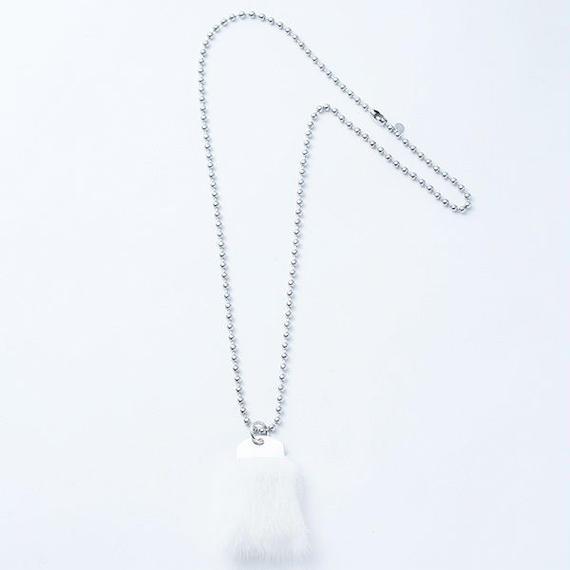 Mink fur necklace