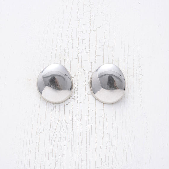 Dead stock motif earing (Round)