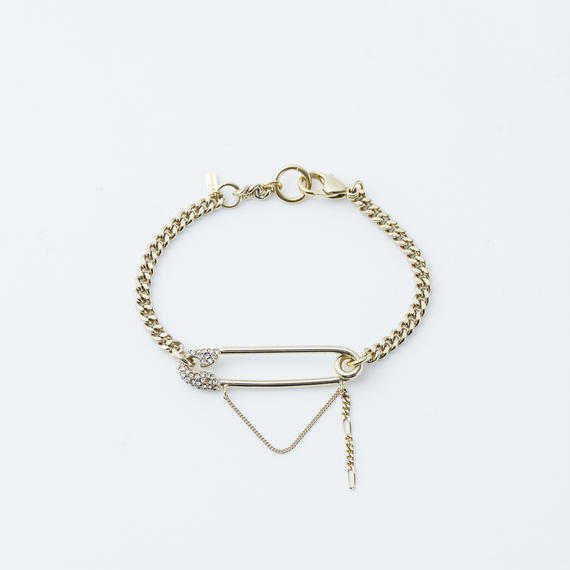 Safety pin chain bracelet (Chain)