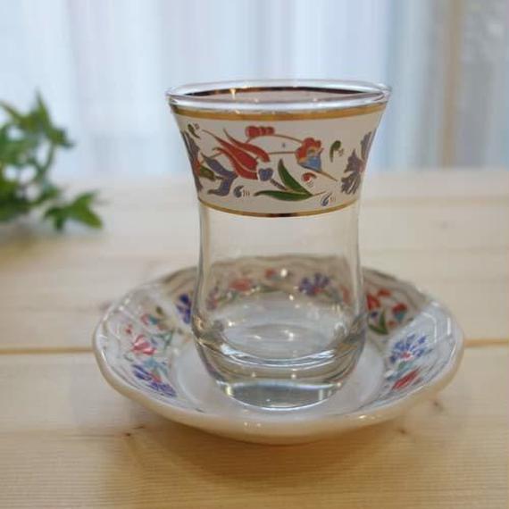 ch4  ★素敵なチャイグラスでティータイムも楽しく!トルコ チャイグラス