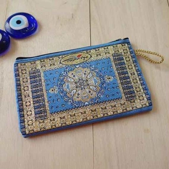 ★ nazapc28     トルコの絨毯柄やタイル柄を再現したトルコデザインポーチ